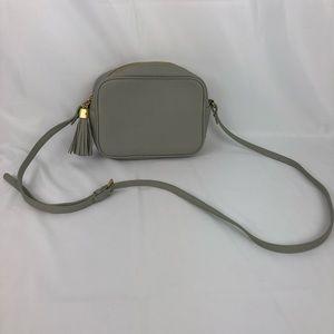 GiGi New York Gray crossbody purse